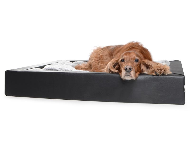 tiervital naturprodukte hundebett aus kunstleder. Black Bedroom Furniture Sets. Home Design Ideas