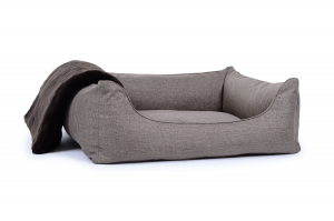 Hundebett Worldcollection Softline 90x70 cm creme