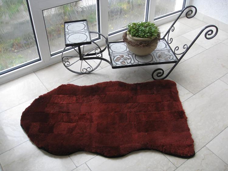lammfell patchwork teppich. Black Bedroom Furniture Sets. Home Design Ideas