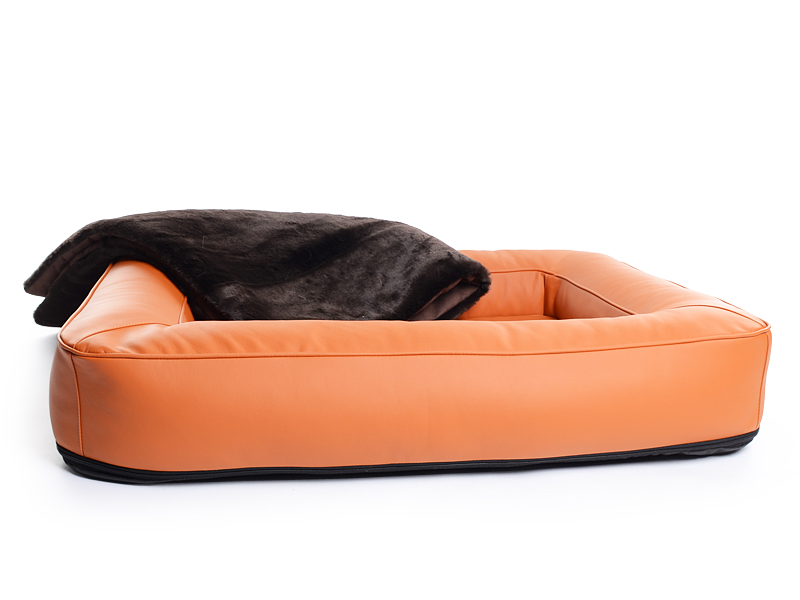 strapazierf higes kunstleder hundebett. Black Bedroom Furniture Sets. Home Design Ideas