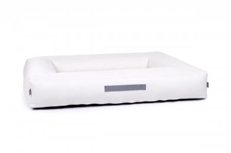 luxus kunstleder hundebett. Black Bedroom Furniture Sets. Home Design Ideas