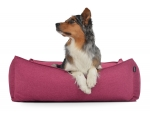 Hundebett Dreamcollection Softline 110x90 cm pink